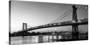 Queensboro Bridge and Manhattan from Brooklyn, NYC by Michel Setboun