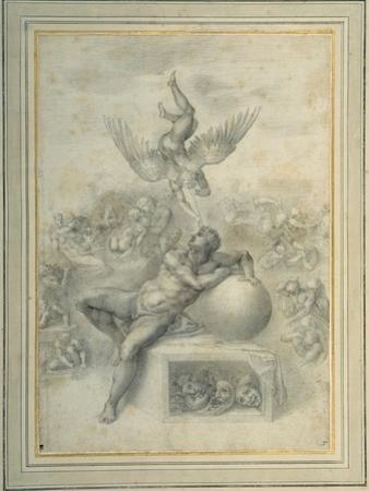 A Dream of Human Life', after Michelangelo Buonarroti by Michelangelo Buonarroti
