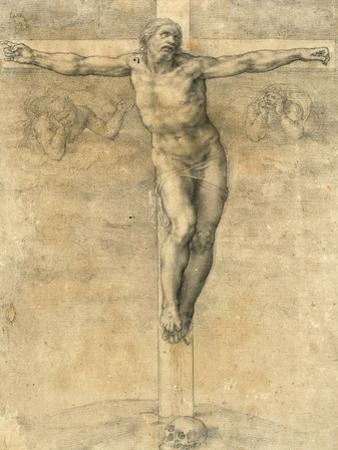 Christ on the Cross, Around 1541 by Michelangelo Buonarroti