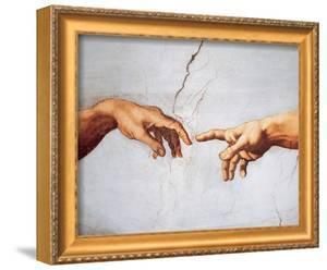 Creation of Adam by Michelangelo Buonarroti