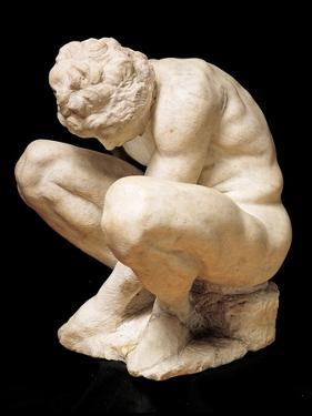 Crouching Boy by Michelangelo Buonarroti