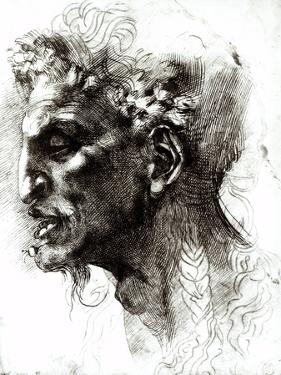 Head of a Satyr by Michelangelo Buonarroti