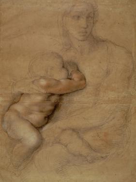 Madonna and Child, circa 1525 by Michelangelo Buonarroti