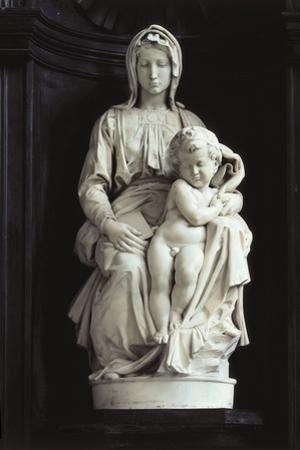 Madonna of Bruges by Michelangelo Buonarroti