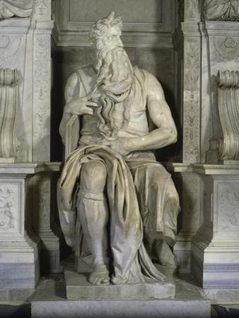 Moses (Full Frontal View) by Michelangelo Buonarroti