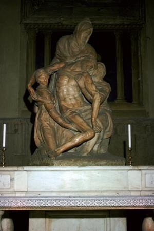 Pieta, 16th century by Michelangelo Buonarroti