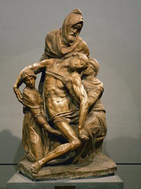 Pieta, circa 1550 by Michelangelo Buonarroti
