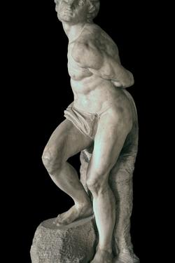 Rebellious Slave by Michelangelo Buonarroti