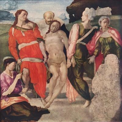 The Entombment, c1500, (1911) by Michelangelo Buonarroti