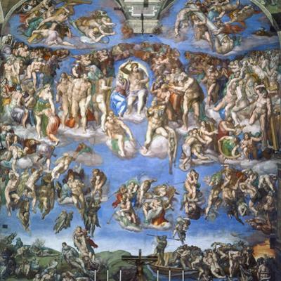 The Last Judgment, c.1540 by Michelangelo Buonarroti