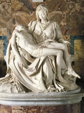 The Pieta by Michelangelo Buonarroti