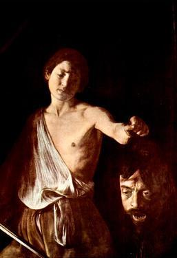 Michelangelo Caravaggio The Head of Medusa Tondo Art Print Poster
