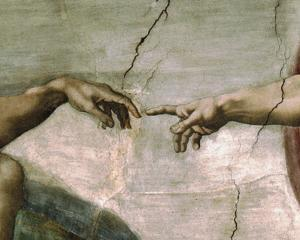 Creation of Adam - Detail by Michelangelo