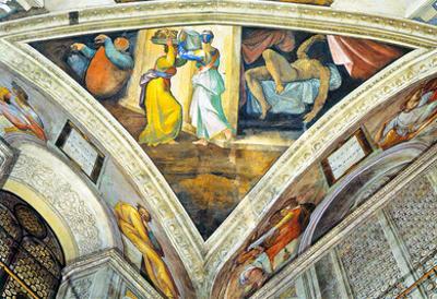 Michelangelo Head of John Baptist 2 Art Print Poster