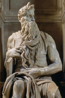 Moses, Tomb of Giulio II by Michelangelo