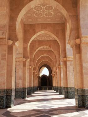 Hassan II Mosque, Casablanca, Morocco by Michele Burgess