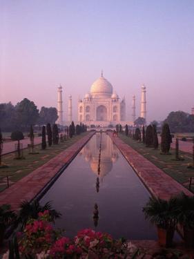 Taj Mahal, Agra, India by Michele Burgess