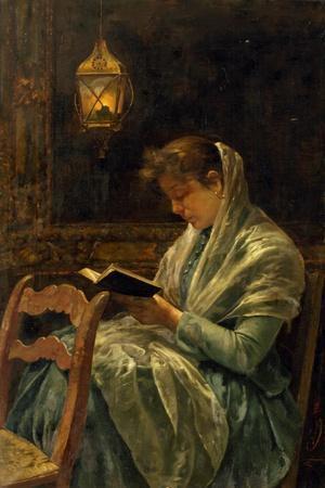 Girls in Prayer, 1900