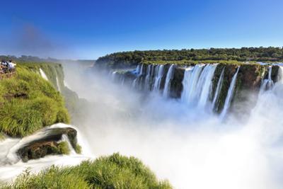 Argentina, Iguazu Falls National Park, (Unesco Site), Devil's Throat by Michele Falzone