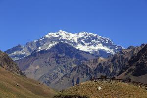 Argentina, Mendoza, Aconcagua Pronvicial Park, Mt Aconcagua by Michele Falzone