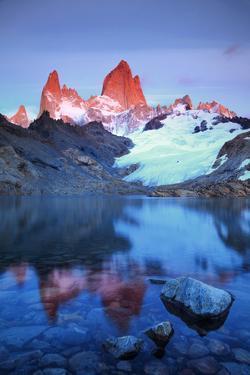 Argentina, Patagonia, El Chalten, Los Glaciares National Park, Cerro Fitzroy Peak by Michele Falzone