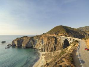 California, Big Sur Pacific Coastline, Bixby Bridge and Highway 1, USA by Michele Falzone
