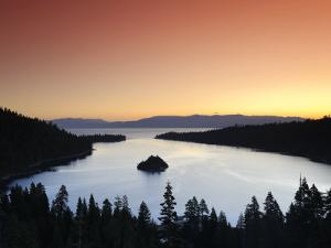 California/Nevada, Lake Tahoe, Emerald Bay, USA by Michele Falzone
