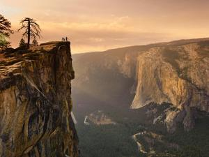 California, Yosemite National Park, Taft Point, El Capitan and Yosemite Valley, USA by Michele Falzone