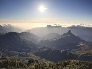 Canary Islands, Gran Canaria, Central Mountains, View of West Gran Canaria from Roque Nublo by Michele Falzone