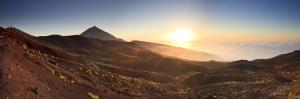 Canary Islands, Tenerife, Parque Nacional Del Teide (Teide National Park), UNESCO Site, Mt; Teide by Michele Falzone