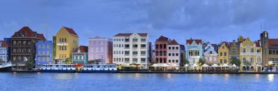 Caribbean, Netherland Antilles, Curacao, Willemstad, Punda, Dutch Colonial Architecture by Michele Falzone