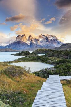 Chile, Patagonia, Torres Del Paine National Park (Unesco Site), Lake Peohe by Michele Falzone