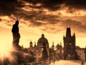 Czech Republic, Prague, Stare Mesto (Old Town), Charles Bridge by Michele Falzone
