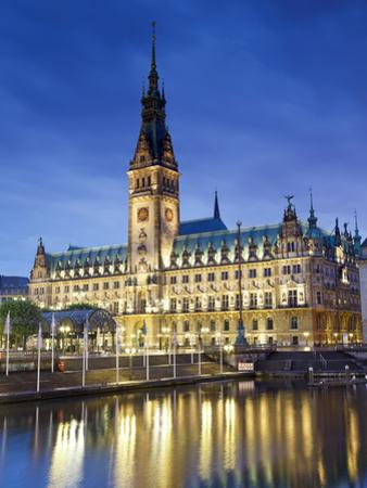 Germany, Hamburg, City Hall (Rathaus) by Michele Falzone
