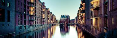 Germany, Hamburg, Warehouses and New Apartments in the Converted Speichrstadt District by Michele Falzone