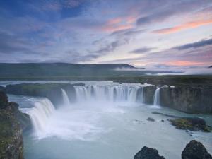 Godafoss Waterfall, Iceland by Michele Falzone