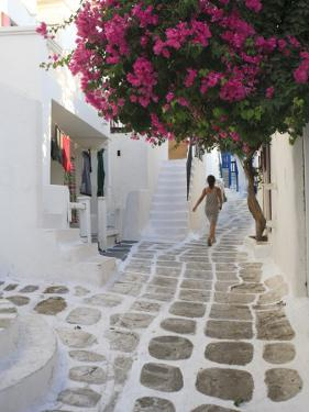 Greece, Cyclades, Mykonos, Mykonos Town by Michele Falzone