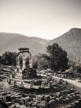 Greece, Delphi (Unesco World Heritage Site), Sanctuary of Athena Pronaia, the Tholos by Michele Falzone