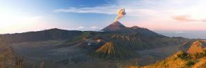 Gunung Bromo Crater from Mt, Penanjakan, Bromo Tengger Semeru Np, Java, Indonesia by Michele Falzone