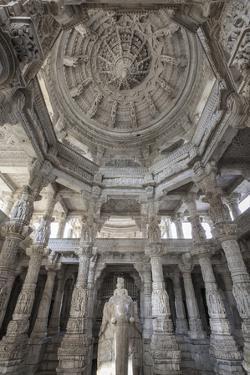India, Rajasthan, Ranakpur Jain Temple by Michele Falzone