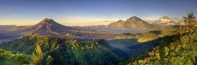 Indonesia, Bali, the Caldera of Gunung Batur Volcano and Danau Batur Lake by Michele Falzone