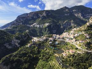 Italy, Amalfi Coast, Ravello, Villa Cimbrone, Gardens by Michele Falzone