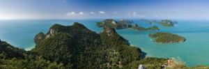 Ko Wat Ta Lap Lookout, Ang Thong National Marine Park, Ko Samui, Thailand by Michele Falzone