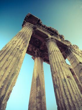 Lebanon, Baalbek, Temple of Bacchus by Michele Falzone