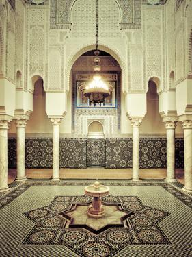 Morocco, Meknes, Medina (Old Town), Moulay Ismal Mausoleum by Michele Falzone