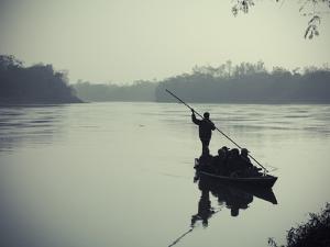 Nepal, Chitwan National Park, Narayani River by Michele Falzone