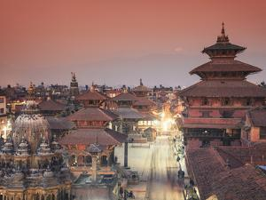 Nepal, Kathmandu, Patan (UNESCO Site), Durbar Square by Michele Falzone