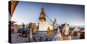 Nepal, Kathmandu, Swayambhunath Stupa by Michele Falzone