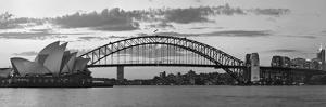 Opera House and Harbour Bridge, Sydney, New South Wales, Australia by Michele Falzone