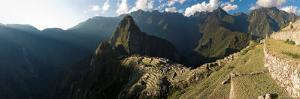 Panoramic View of Machu Picchu, Sacred Valley, Peru by Michele Falzone